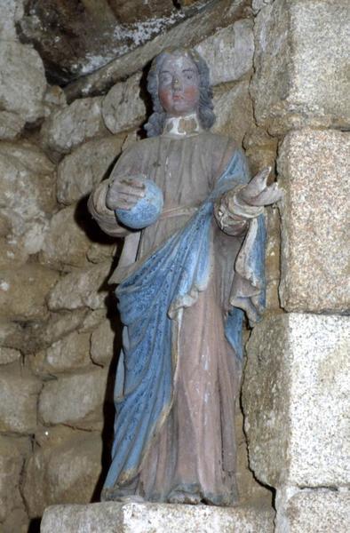 Statue : Jésus enfant