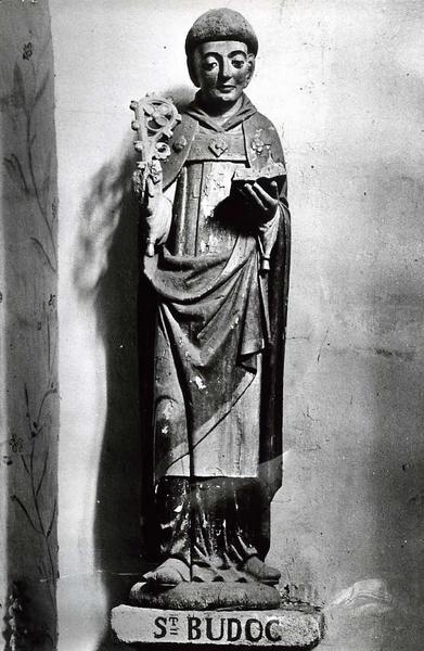 statue : Saint Budoc