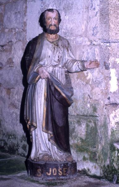 niche de la statue de Saint Joseph