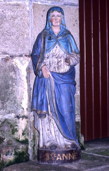 Niche de la statue de Sainte Anne