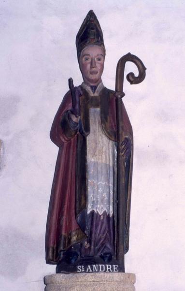 Statue : Saint évêque (Saint André)