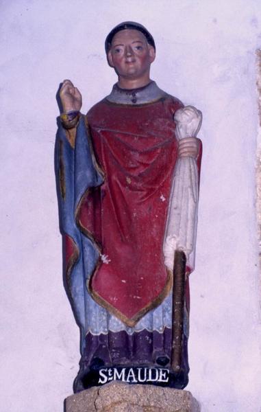 statue : Saint Maudé