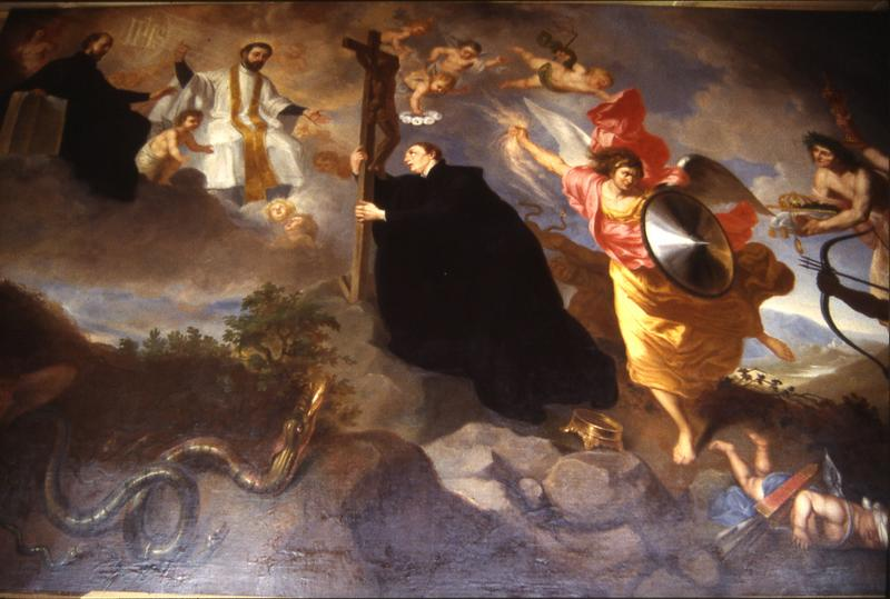 Tableau : Voeux de saint Louis de Gonzague