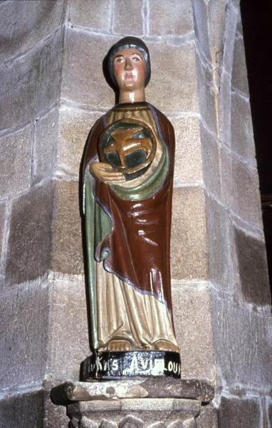 statue : Saint Lukas