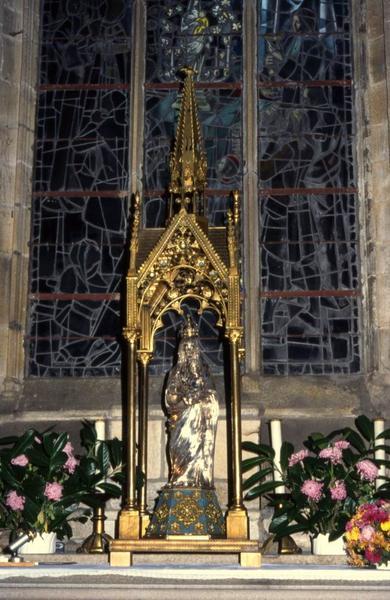 Statue (statuette) : Vierge à l'Enfant dite Notre-Dame du Voeu