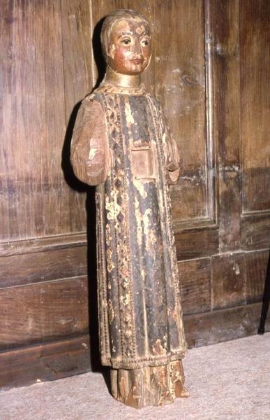Statue-reliquaire : Saint Etienne