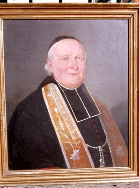 Tableau : Portrait de l'abbé Mainguy