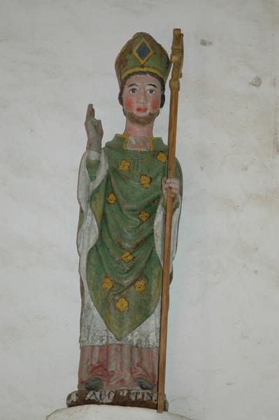 statue : Saint Augustin