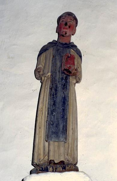 Statue : Saint Fiacre ?