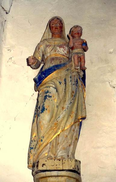 Statue : Vierge à l'Enfant n°2
