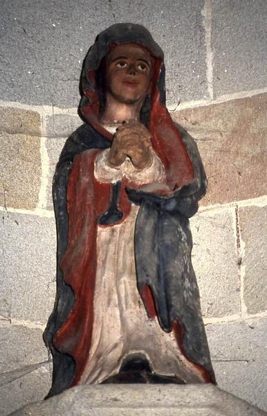 statue : Sainte orante