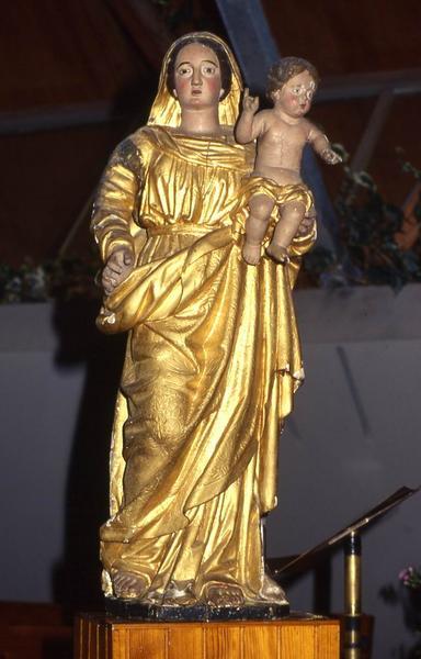 statue : Vierge à l'Enfant n°1