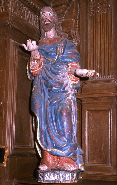 statue : Saint Sauveur