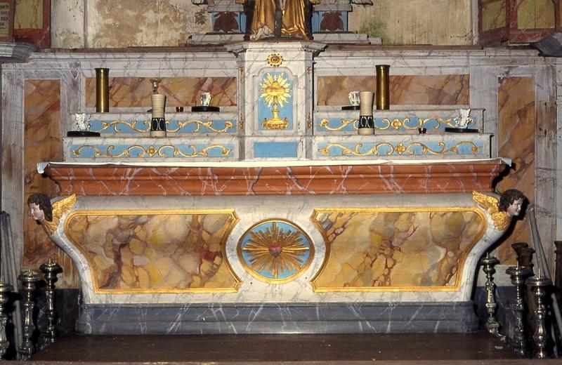 autel (maître-autel) et tabernacle
