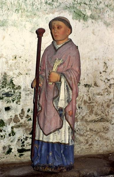 statue : Saint Durlo (Gurloes)