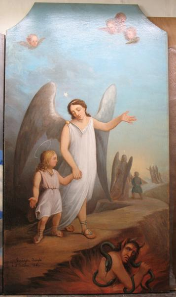 tableau : Ange gardien