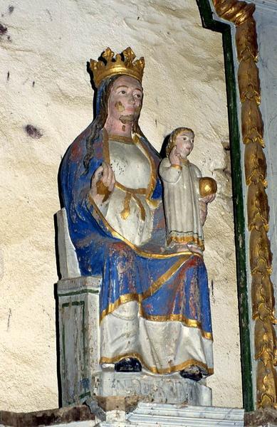 statue : Vierge à l'Enfant dite Notre-Dame de Quelven