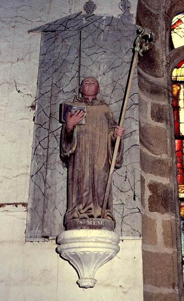 Statue : Saint Méen