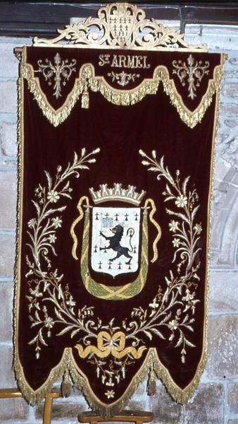 Bannière de procession n°2 : Saint Armel