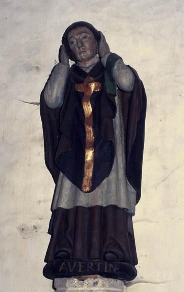 statue : Saint Avertin