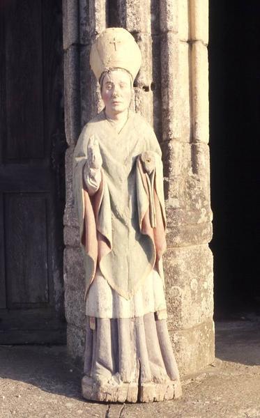 statue : Saint évêque (Saint Nicolas)