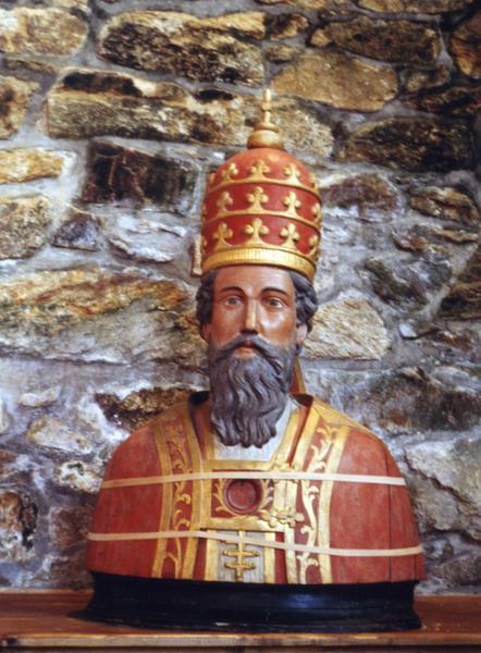 Buste-reliquaire : Saint Cornély