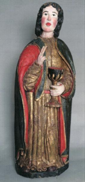 statue : Saint Jean l'Evangéliste
