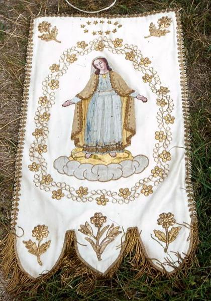 Bannière de procession n°2 : Immaculée Conception