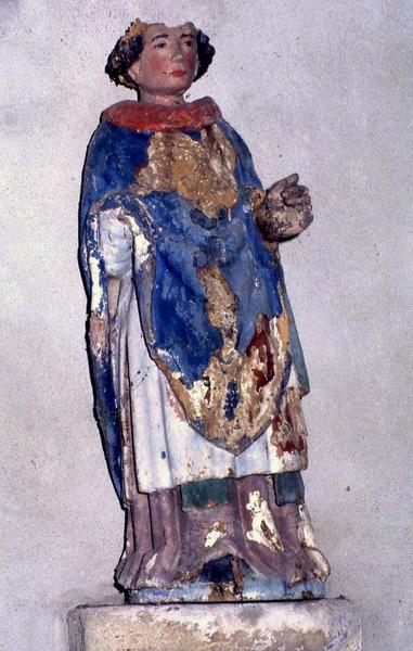 statue : Saint moine n°1