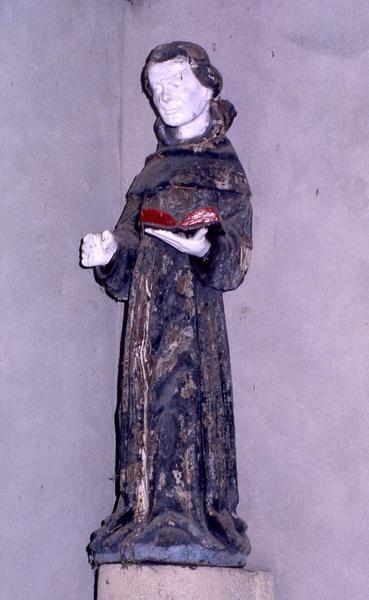 statue : Saint moine n°2