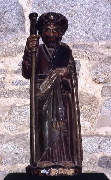 Statue : Saint Jacques ?