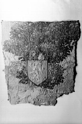 Fragment d'une pièce murale (tapisserie)