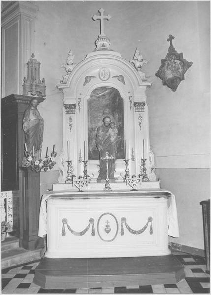 autel latéral sud
