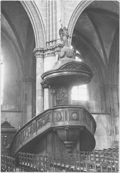 Chaire à prêcher style néo-classique