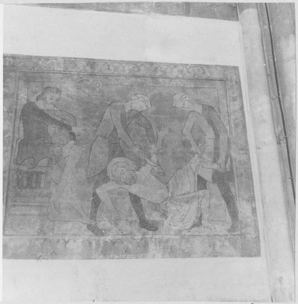 Peinture monumentale : le Martyre de saint Barthélémy