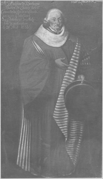 tableau : Portrait d'Antoine de Bretagne, baron de Loisy