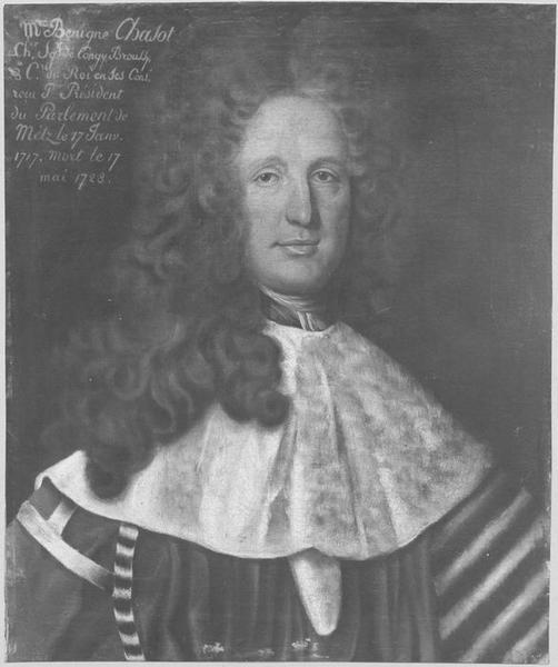 Tableau : Portrait de Bénigne Chasot de Congy