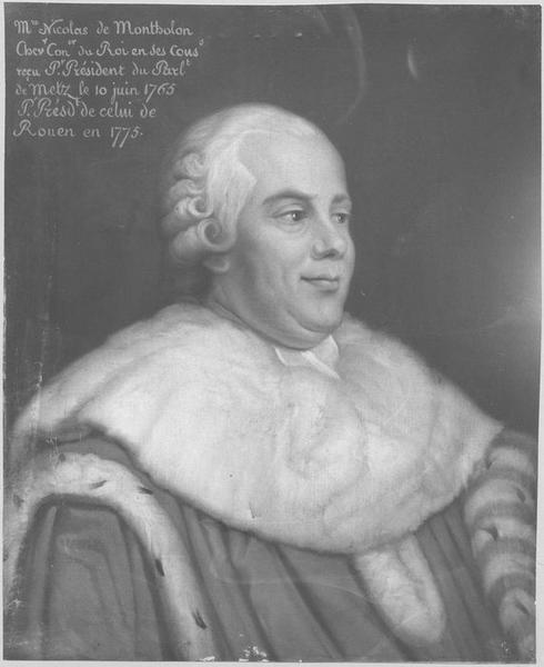 Tableau : Portrait de Nicolas de Montholon