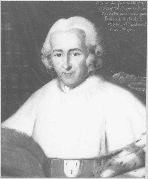 Tableau : Portrait d'Etienne Joseph François Xavier Chifflet d'Orchamps