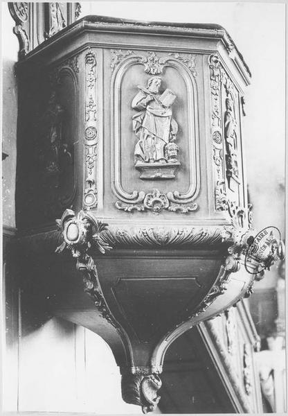 Chaire à prêcher (partie inférieure)