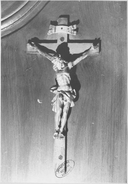 Confessionnal (détail crucifix)