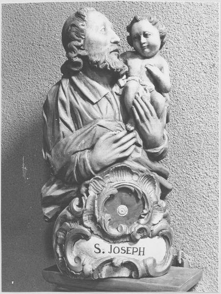 Buste-reliquaire : saint Joseph