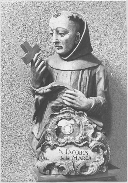 Buste-reliquaire : saint Jacques de la Marche