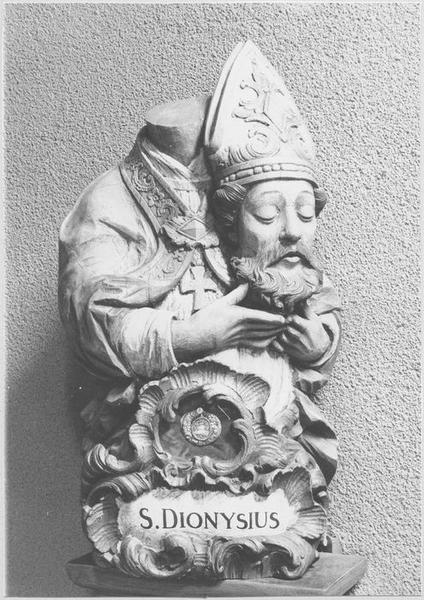 Buste-reliquaire : saint Denis
