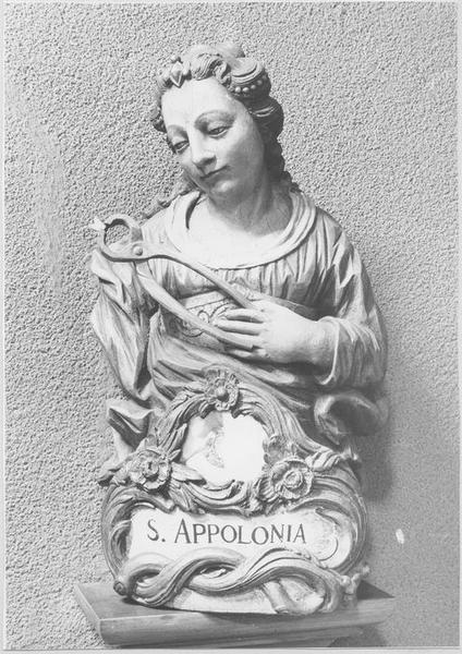 Buste-reliquaire : sainte Apolline