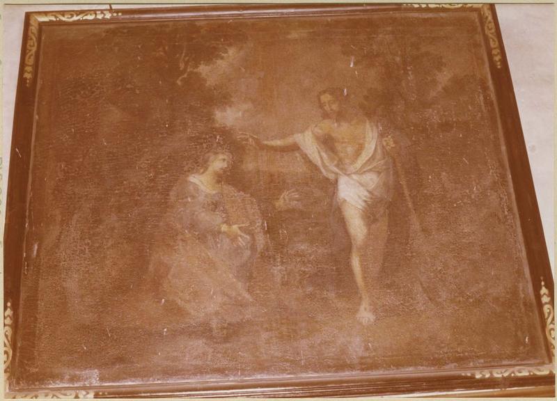 Tableau : l'Apparition du Christ ressuscité à la Madeleine