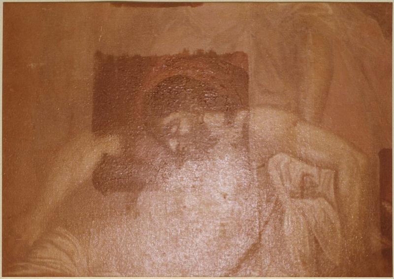 tableau : la Déposition de Croix (détail)