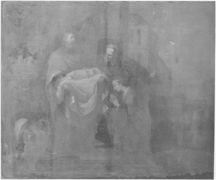 Tableau : la Présentation de Jésus au temple