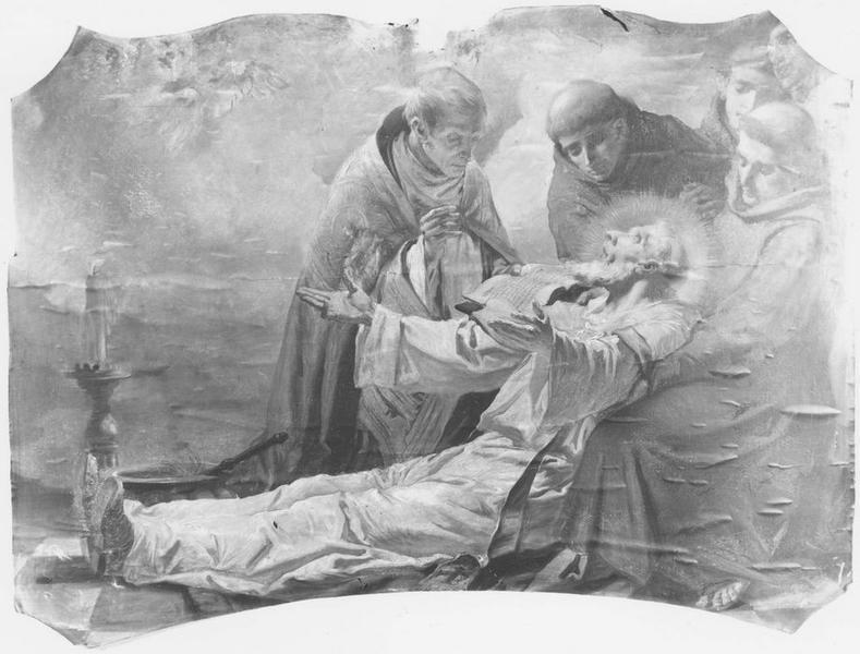 4 tableaux : la vie de saint Nicolas