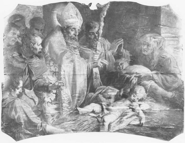 Tableau : la vie de saint Nicolas